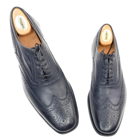 Florsheim Other - Florsheim Wingtip Dress Shoes US 10.5 Black Mens